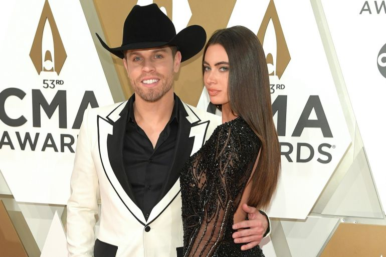 Dustin Lynch and Kelli Seymour; Photo by Jason Kempin/Getty Images