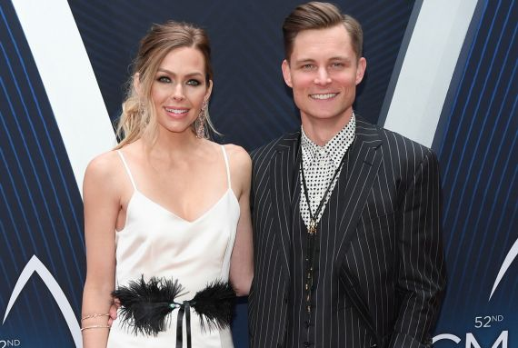 Frankie Ballard and wife, Chrissy; Photo by Jason Kempin/Getty Images