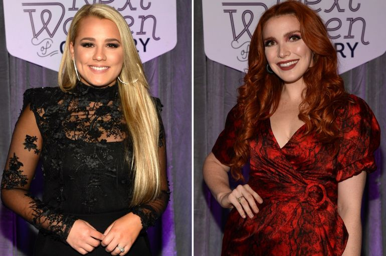 Gabby Barrett, Caylee Hammack; Photos by Rick Diamond/Getty Images for CMT