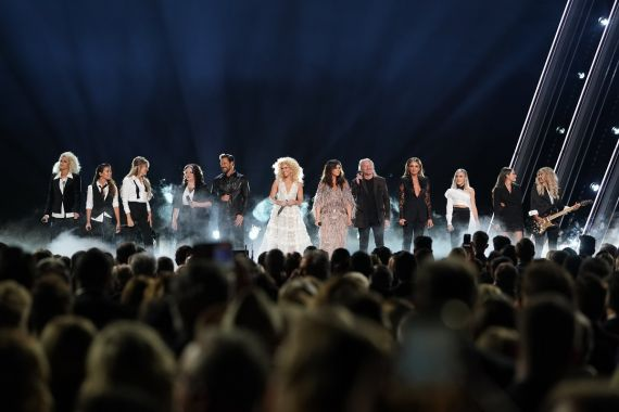 Runaway June, Ashley McBryde, Little Big Town, Carly Pearce, Maddie & Tae, Lindsay Ell; Photo Courtesy CMA