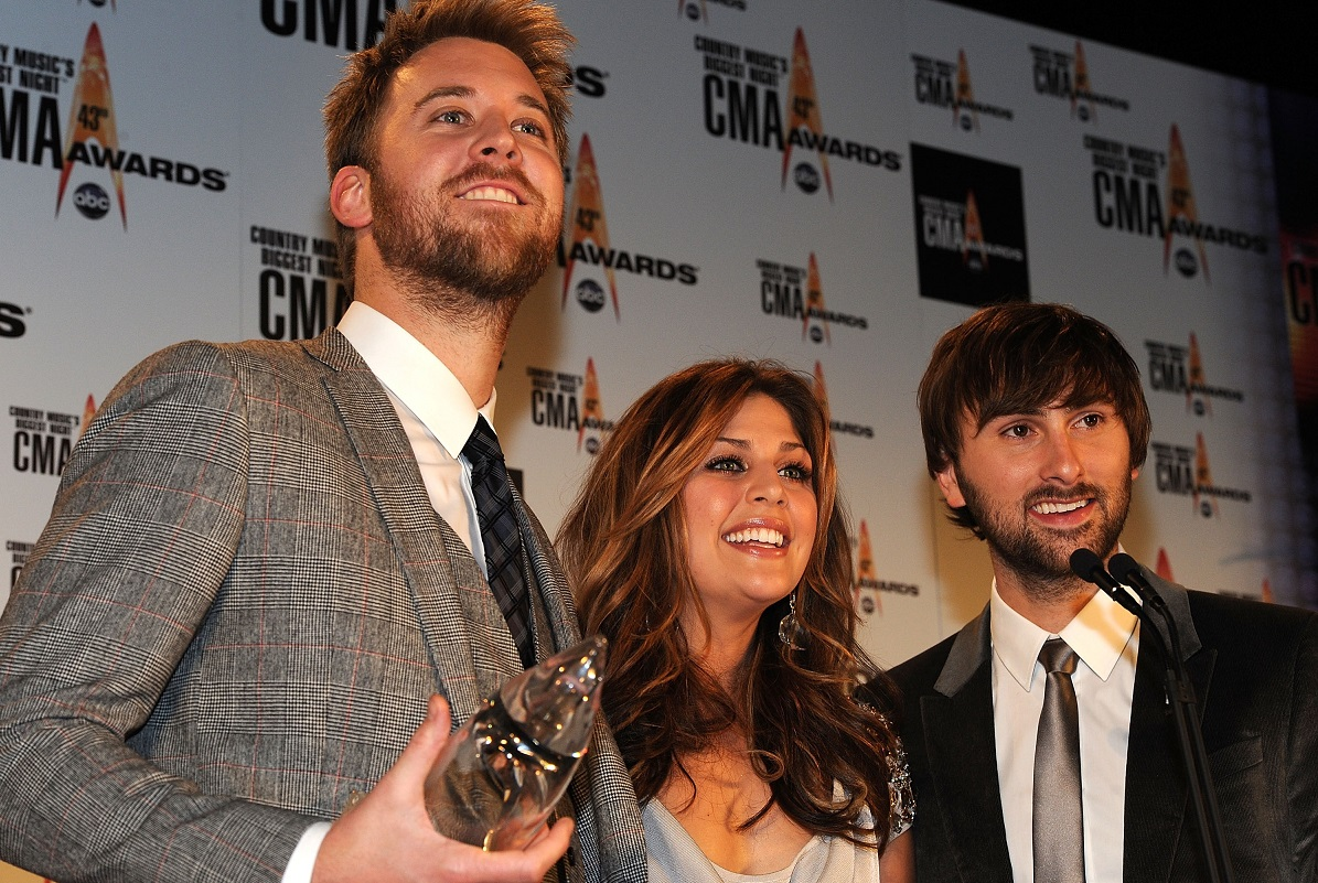 Lady Antebellum; Photo by Frederick Breedon/Getty Images
