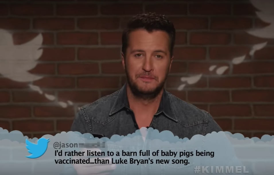 Luke Bryan, Luke Combs & More Read Mean Tweets About Themselves - Country Now