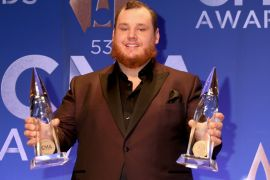 Luke Combs; Photo by Leah Puttkammer/Getty Images