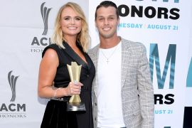 Miranda Lambert and Brendan McLoughlin; Photo by Jason Kempin/Getty Images for Academy of Country Music