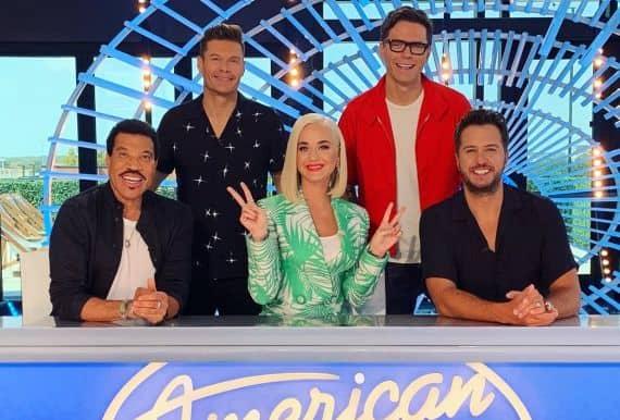 Ryan Seacrest, Bobby Bones, Lionel Richie, Katy Perry, Luke Bryan; Photo Courtesy American Idol