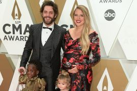 Thomas Rhett and Family; Photo by Jason Kempin/Getty Images
