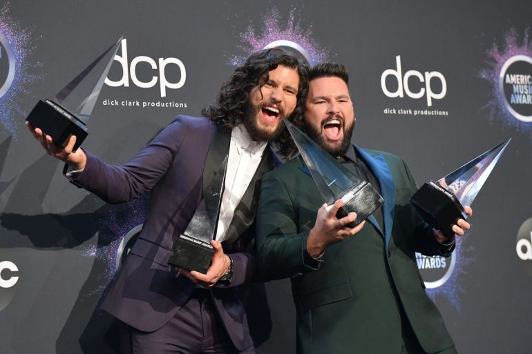 Dan + Shay; Photo by Matt Winkelmeyer/Getty Images for dcp