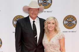 Alan Jackson and Wife, Denise; Photo by Terry Wyatt/Getty Images for Country Music Hall Of Fame & Museum