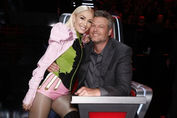 Gwen Stefani, Blake Shelton; Photo by: Trae Patton/NBC