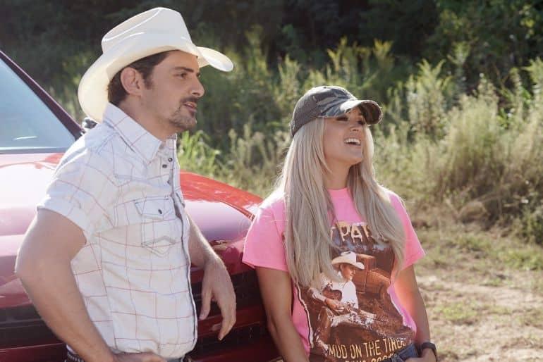 Brad Paisley, Carrie Underwood; ABC/Mark Levine