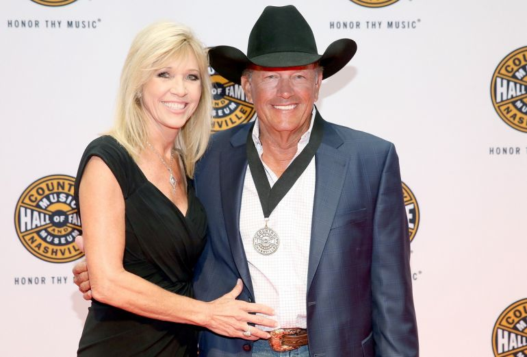 Norma Strait and George Strait; Photo by Terry Wyatt/Getty Images for Country Music Hall Of Fame & Museum