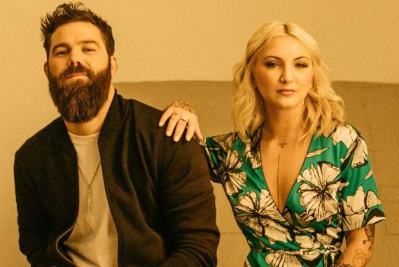 Jordan Davis, Julia Michaels; Photo Courtesy MCA Nashville