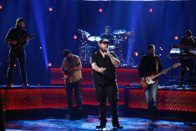 Luke Combs; Photo by: Trae Patton/NBC