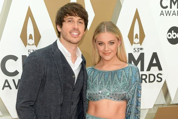 Morgan Evans, Kelsea Ballerini; Photo by Jason Kempin/Getty Images