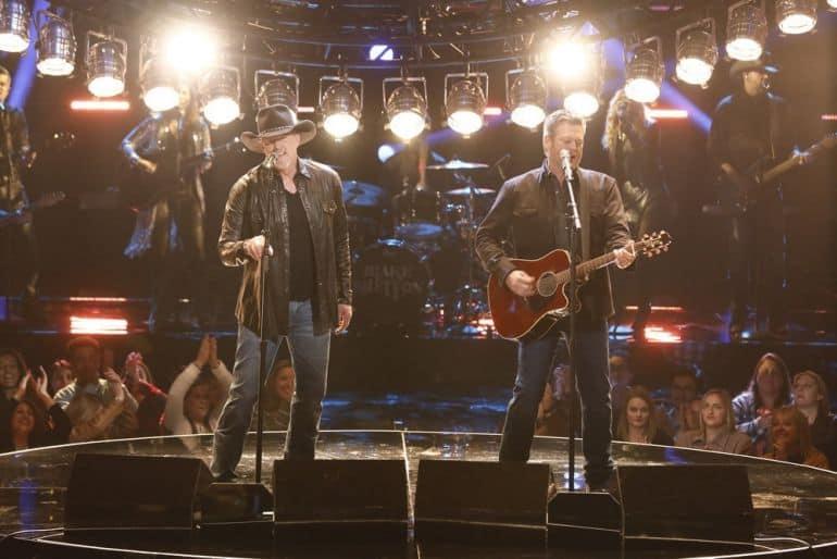 Trace Adkins, Blake Shelton; Photo by: Trae Patton/NBC