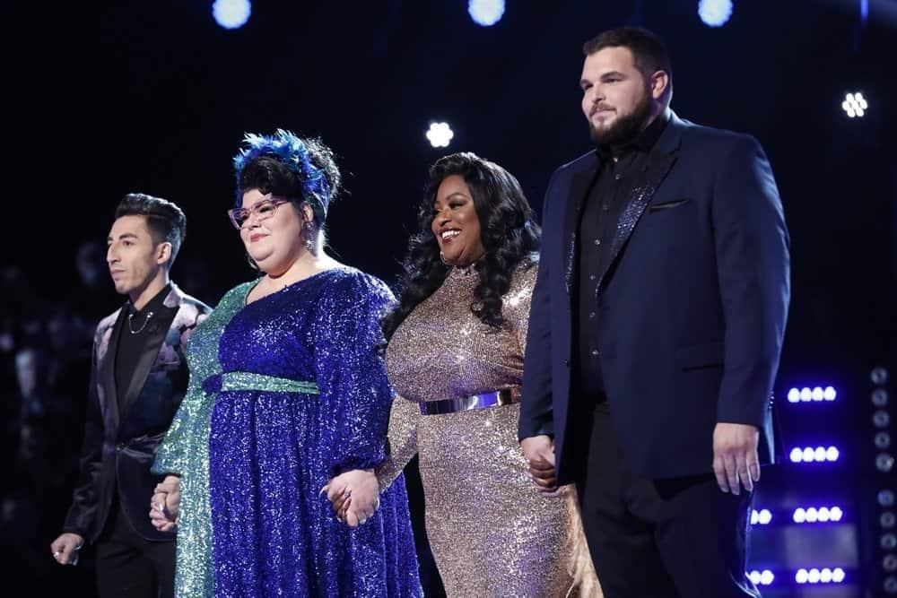 Ricky Duran, Katie Kadan, Rose Short, Jake Hoot; Photo by: Trae Patton/NBC