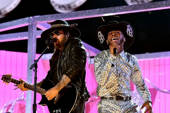 Billy Ray Cyrus and Lil Nas X; Photo by Emma McIntyre/Getty Images for The Recording Academy