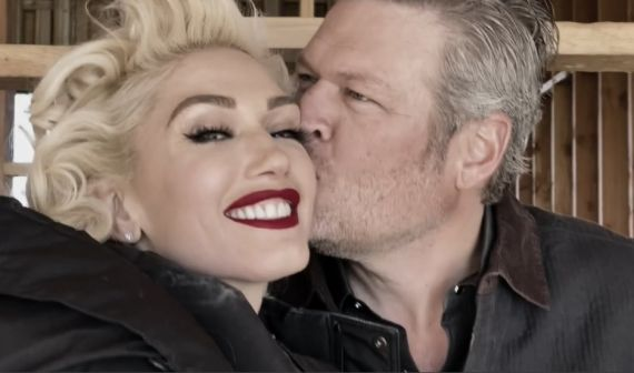 Blake Shelton and Gwen Stefani; Nobody But You Video