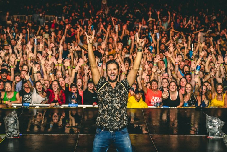 Luke Bryan; Photo by Ethan Helms