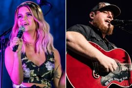 Maren Morris, Luke Combs; Photos by Andrew Wendowski