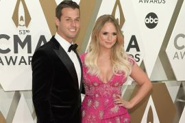 Brendan McLoughlin and Miranda Lambert; Photo by Jason Kempin/Getty Images