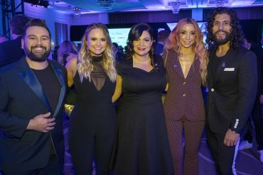 Dan + Shay with Pistol Annies; Photo by Frederick Breedon/Getty Images for The Recording Academy