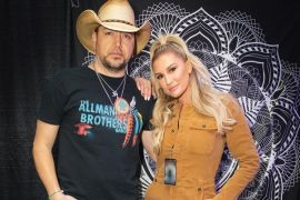 Jason Aldean and Brittany; Photo via Instagram