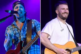 Kip Moore; Photo by Ethan Miller/Getty Images, Sam Hunt; Photo by Jason Kempin/Getty Images