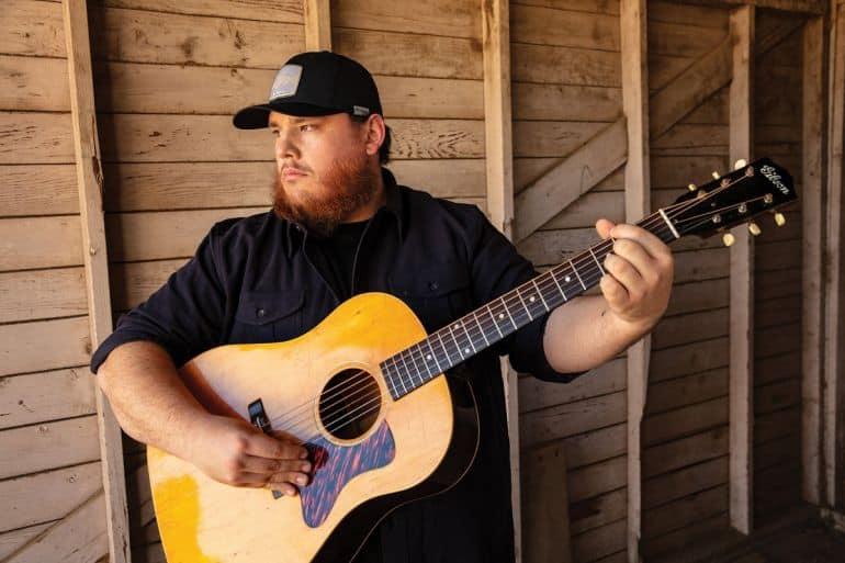 Luke Combs; Photo by Jim Wright