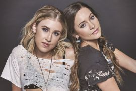 Maddie & Tae; Photo by Carlos Ruiz