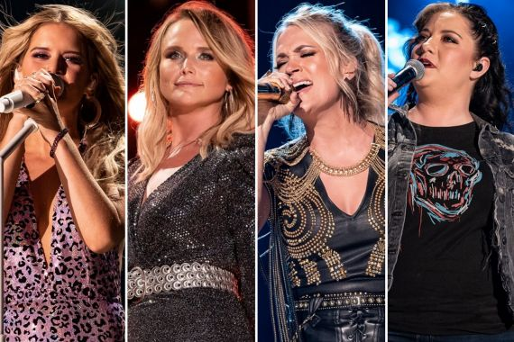Maren Morris, Miranda Lambert, Carrie Underwood, Ashley McBryde; Photos by Andrew Wendowski