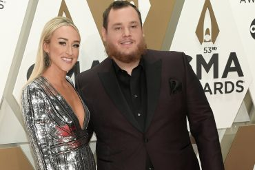 Nicole Hocking, Luke Combs; Photo by Jason Kempin/Getty Images