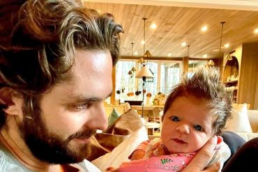Thomas Rhett and Lennon Love