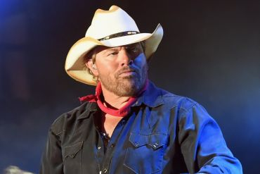 Toby Keith; Photo by Rick Diamond/Getty Images for Country Thunder USA