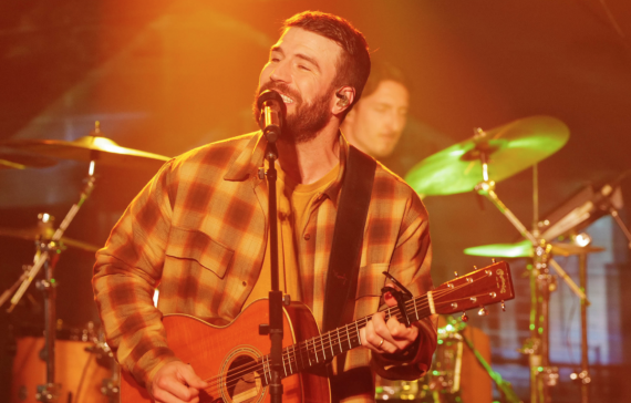 Sam Hunt; Photo Courtesy of Jimmy Kimmel Live!/ABC