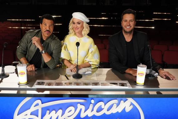 'American Idol' judges Lionel Richie, Katy Perry and Luke Bryan; Photo by Eric McCandless/ABC