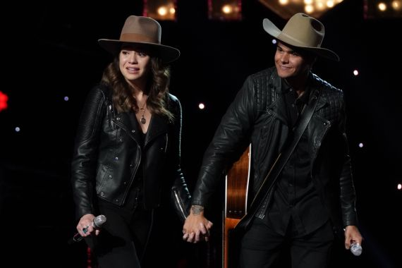 'American Idol' Contestants Kat Lopez and Alex Garrido; Photo by Eric McCandless/ABC