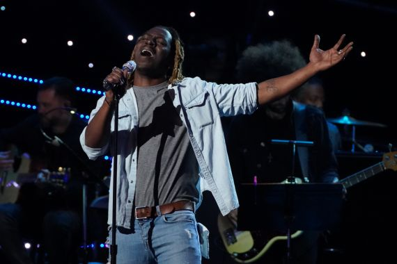 'American Idol' Contestant Jovin Webb; Photo by Eric McCandless/ABC