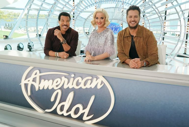 Lionel Richie, Katy Perry, Luke Bryan; Photo by ABC/Eric McCandless