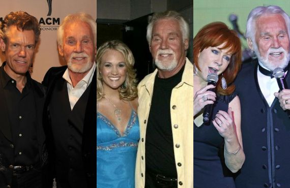 Randy Travis, Carrie Underwood and Reba McEntire Remember Kenny Rogers
