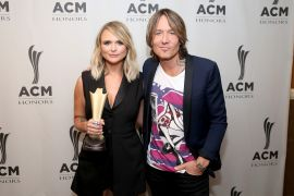 Miranda Lambert, Keith Urban; Photo by Terry Wyatt/Getty Images for Academy of Country Music
