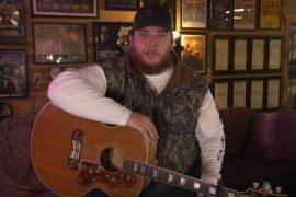 Luke Combs; Photo Courtesy of YouTube Livestream
