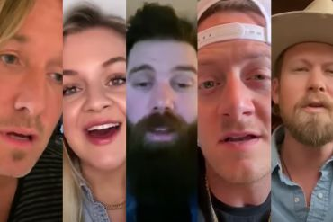 Keith Urban, Kelsea Ballerini, Jordan Davis and Florida Georgia Line; Photos Courtesy of YouTube Video