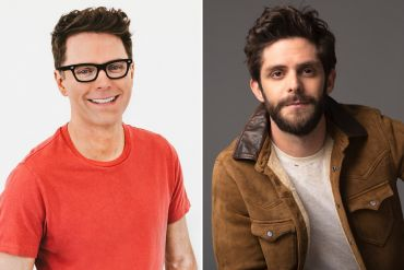 Bobby Bones; Photo by Taylor Kelly, Thomas Rhett; Photo by John Shearer