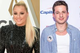 Gabby Barrett; Photo by Jason Kempin, Getty Images, Charlie Puth; Photo by Andrew Wendowski