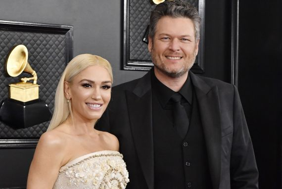 Gwen Stefani and Blake Shelton; Photo by Frazer Harrison/Getty Images for The Recording Academy