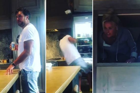 Luke Bryan and Caroline Bryan; Photos via Instagram