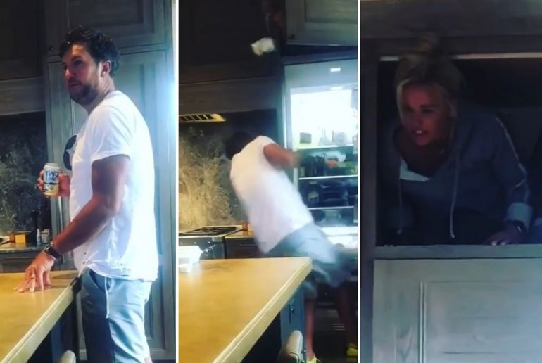 Luke Bryan and Caroline Bryan; Photos via Instagram