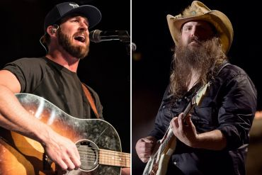 Riley Green; Photo by Andrew Wendowski, Chris Stapleton; Photo by Jason Kempin/Getty Images