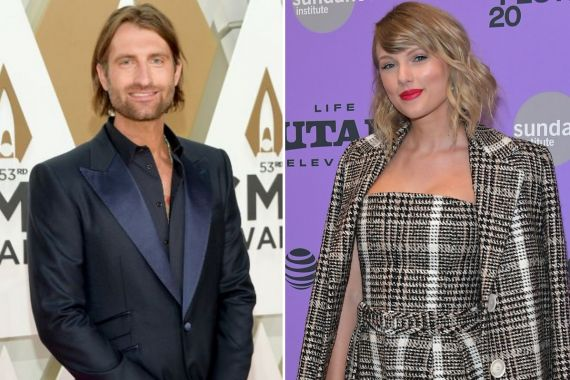 Ryan Hurd; Photo by Jason Kempin/Getty Images, Taylor Swift; Photo by Photo by Neilson Barnard/Getty Images